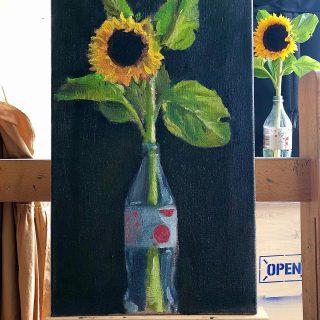 Oil on canvas #workinprogress
