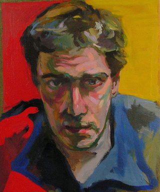Portrait in oil. 40x30